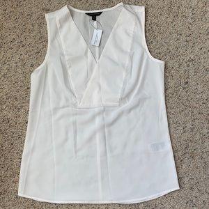 *NEW* white Banana Republic women's sleeveless top